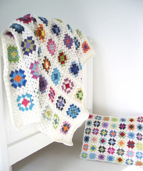 Livvy blanket and cushion