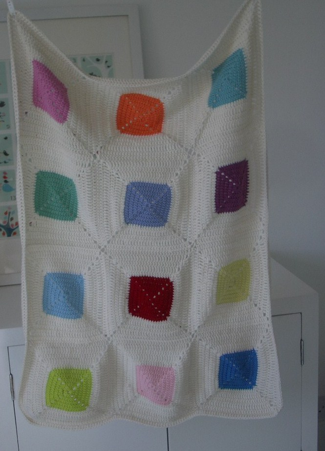 Paintbox Baby Blanket 001