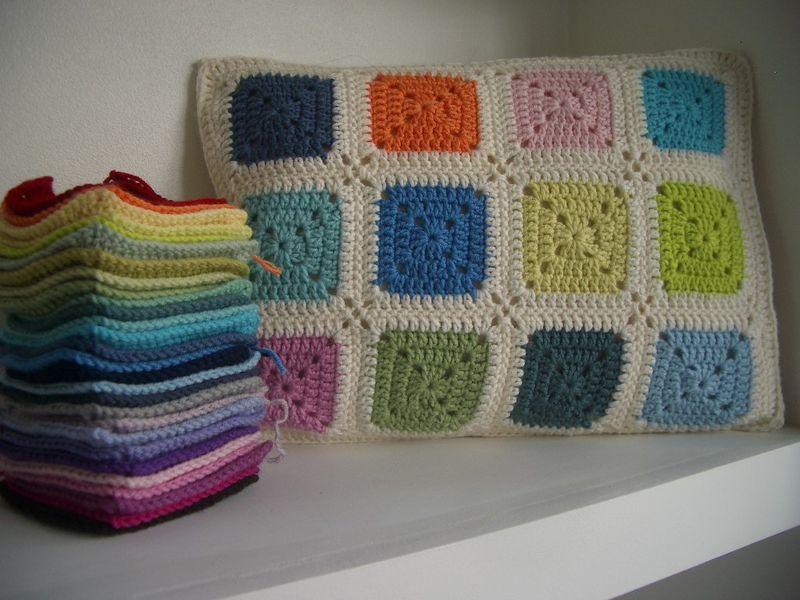 Solid Granny Squares 003