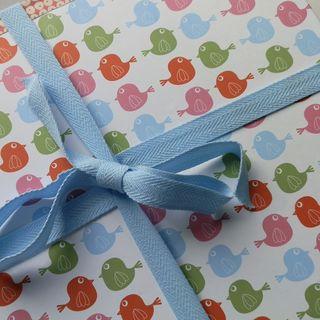 Blue vintage zoo gift set 011