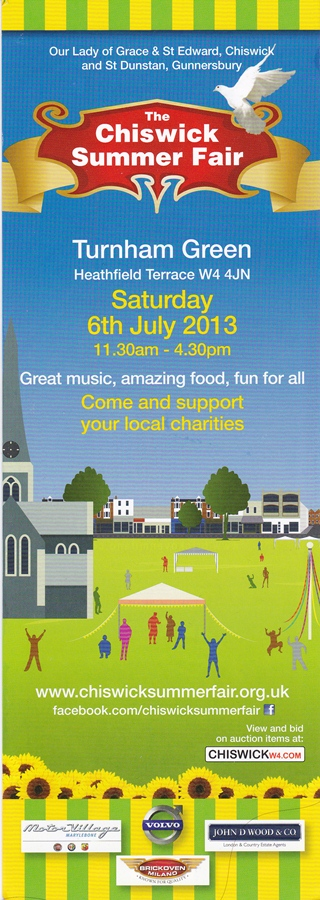 Chiswick Summer Fair Poster