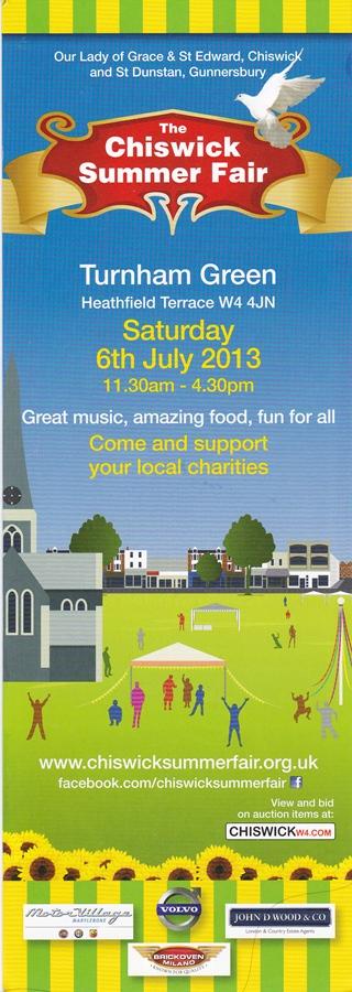 Chiswick Summer Fair Poster