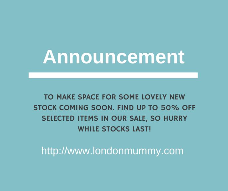 Sale announcement